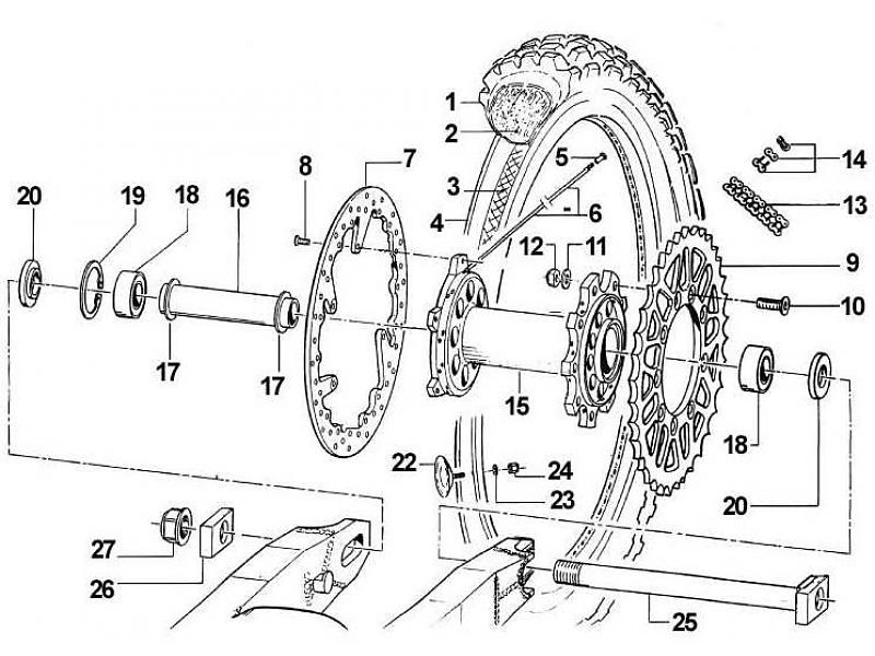 tm racing bakhjul