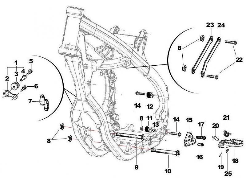 tm racing frame