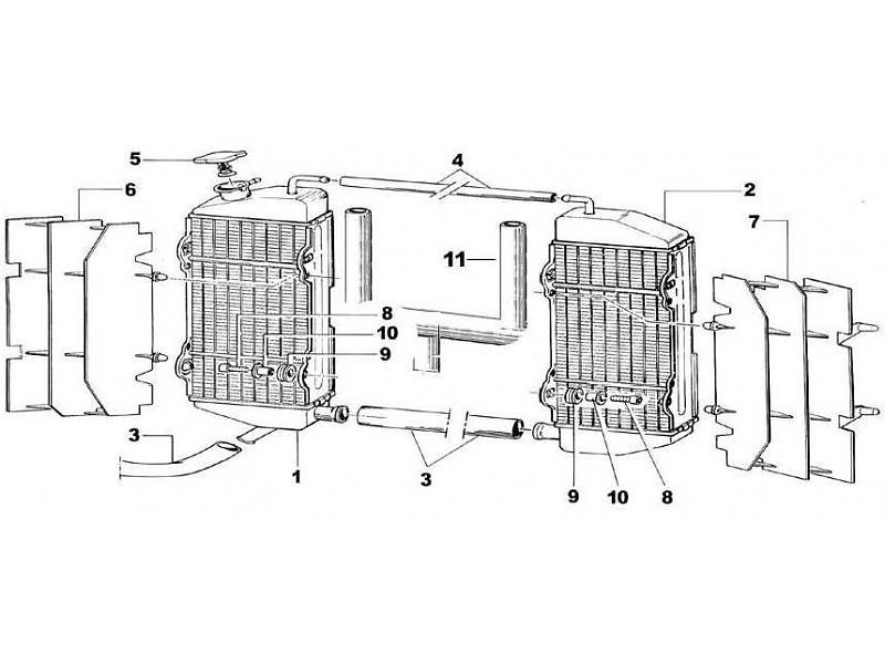 tm racing radiatorer