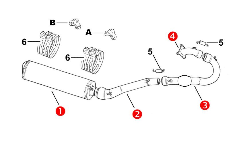 4 stroke exhaust