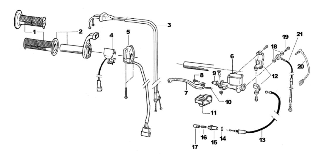 brake lever 4 stroke 2014