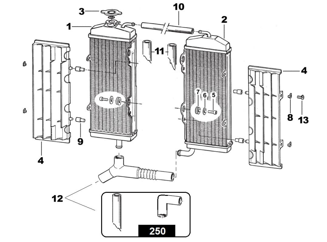 radiator 4 stroke