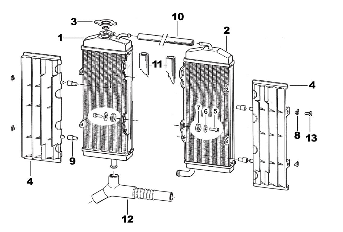 radiator 4 stroke 2014